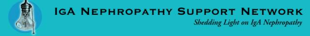 IgA Nephropathy Support Network